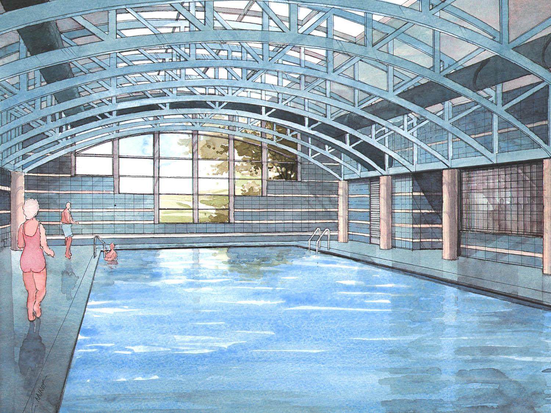 Brooks Howell Pool Rendering