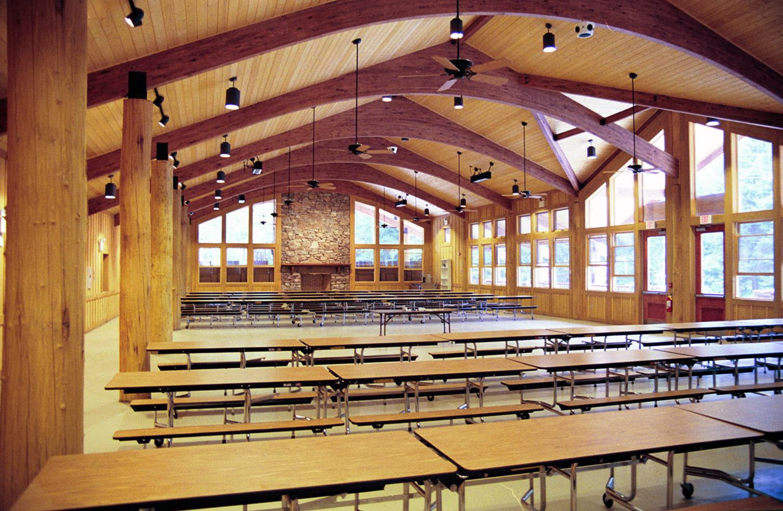 Carleton Collins - Ledbetter Lodge Interior Dining Hall