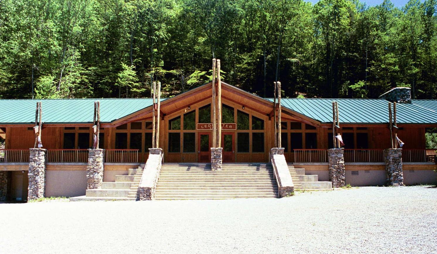 Carleton Collins - Ledbetter Lodge Front Entrance