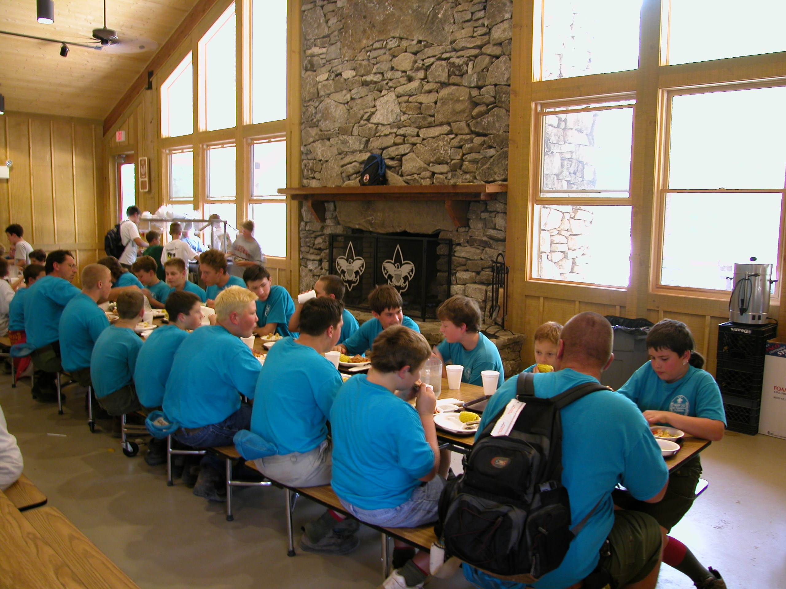 Carleton Collins - Ledbetter Lodge Cafeteria
